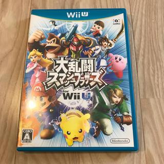 ウィーユー(Wii U)の大乱闘スマッシュブラザーズ for Wii U (家庭用ゲームソフト)