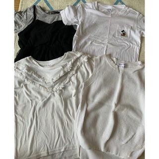グローバルワーク(GLOBAL WORK)の子供用 Tシャツベスト4枚セット(Tシャツ/カットソー)