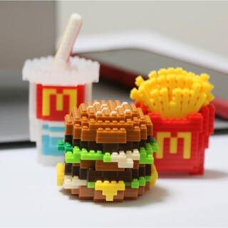 マクドナルド - マクドナルド×ナノブロック McDonald × nanoblock