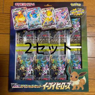 ポケモン(ポケモン)のイーブイヒーローズ V MAX スペシャルセット プロモカードパック無しです。(Box/デッキ/パック)