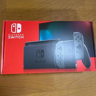 Nintendo Switch - Nintendo Switch 新型 ジョイコン グレー