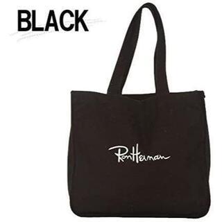 ロンハーマン(Ron Herman)のRon Herman ロンハーマン エコバッグ ブラック(トートバッグ)