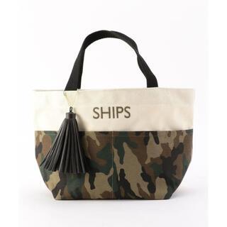 シップスフォーウィメン(SHIPS for women)のSHIPS タッセル ポケットトートバッグ エコバッグ シップス(トートバッグ)