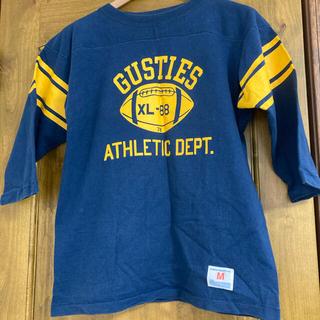 チャンピオン(Champion)のチャンピオン フットボールTシャツ バータグ 70's 80's(Tシャツ/カットソー(七分/長袖))