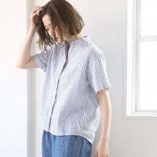 coen - コーエン ストライプシャツ ブラウス