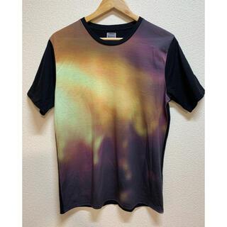 ハレ(HARE)の美品!HARE アーティスティック ペイント Tシャツ 半袖 Mサイズ(Tシャツ/カットソー(半袖/袖なし))