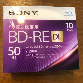 ソニー(SONY)のSony BD-RE DL 50GB/10枚 (日本製) 繰り返し録画用(その他)