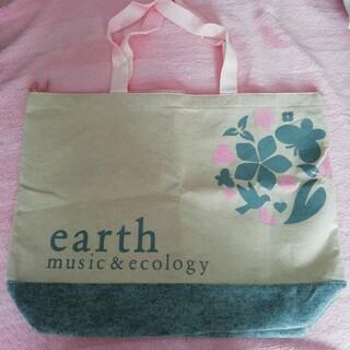 アースミュージックアンドエコロジー(earth music & ecology)の新品☆earth music&ecology☆福袋の袋(トートバッグ)