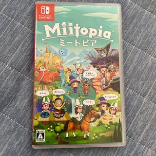 Nintendo Switch - ミートピア Miitopia Switch