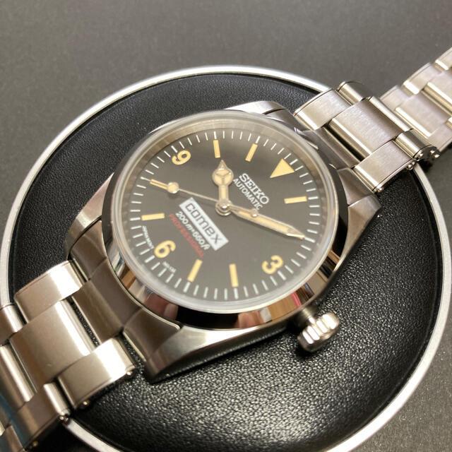 SEIKO(セイコー)のSEIKO mad エクスプローラーカスタム 自動巻 リベットブレス  メンズの時計(腕時計(アナログ))の商品写真