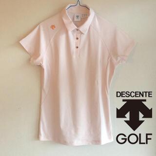 デサント(DESCENTE)の♡新品未使用♡デサント クリスタルコレクション♡スワロフスキー♡ポロシャツ(ウエア)