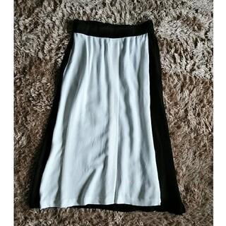 ZARA - ZARA BASIC バイカラー スカート