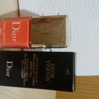 クリスチャンディオール(Christian Dior)の値下げ ディオール ネイル マニキュア ヴェルニ 445(マニキュア)