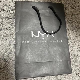 エヌワイエックス(NYX)のNYX 紙袋 ショッパー 新品未使用 美品(ショップ袋)