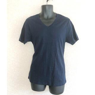 セオリー(theory)のtheory cotton v neck cut sew size 40(Tシャツ/カットソー(半袖/袖なし))