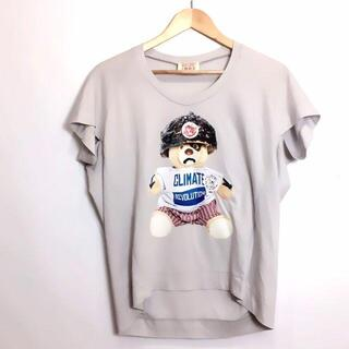 ヴィヴィアンウエストウッド(Vivienne Westwood)のヴィヴィアンウエストウッド ベア プリント 変形 Tシャツ(カットソー(半袖/袖なし))
