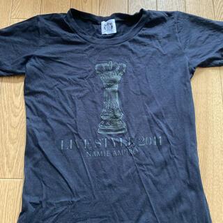 安室奈美恵ツアーTシャツ(2011)(ミュージシャン)