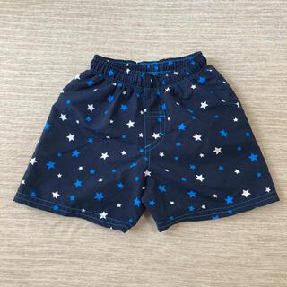 ニシマツヤ(西松屋)の水着 男の子 ハーフパンツ ネイビー 星柄 95cm(水着)