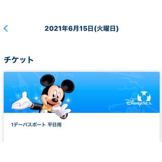 ディズニー(Disney)のディズニーシー チケット グッズ購入用(その他)