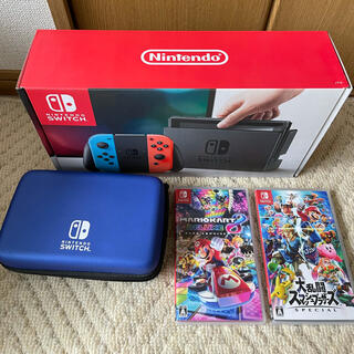 Nintendo Switch - Nintendo SWITCH 本体 ソフト セット