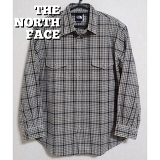 THE NORTH FACE - ザ・ノースフェイス / メンズ 長袖 チェック柄 シャツ  XLサイズ