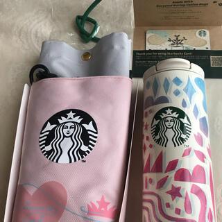 Starbucks Coffee - スターバックス 真空二層タンブラー⭐︎ボトルケース⭐︎ストロー⭐︎カード