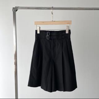 トゥデイフル(TODAYFUL)のwillfully 新品 cotton linen gurkha half PT(カジュアルパンツ)