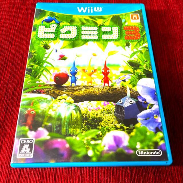 任天堂(ニンテンドウ)のピクミン3 Wii U エンタメ/ホビーのゲームソフト/ゲーム機本体(家庭用ゲームソフト)の商品写真
