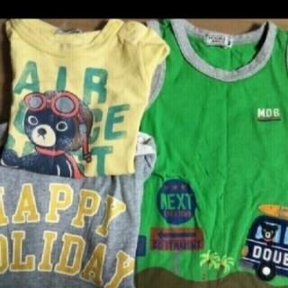 ダブルビー(DOUBLE.B)のDOUBLE.B 半袖 Tシャツ まとめ売 80 90 子供服 キッズ ベビー服(Tシャツ)