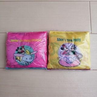 Disney - ディズニー エコバッグ レトロ カプセルトイ ダンボ ティーパーティー ピンク