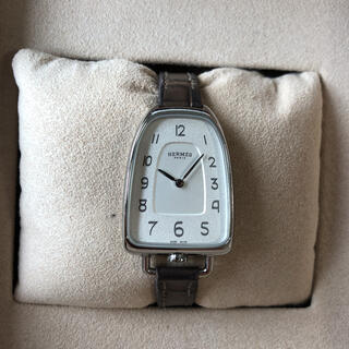 Hermes - エルメス 時計 ギャロップ ドゥ Hウォッチ エトープ W047879WW
