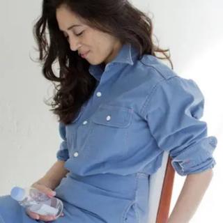 マディソンブルー(MADISONBLUE)のマディソンブルー ハンプトンシャツMADISON BLUE(シャツ/ブラウス(長袖/七分))