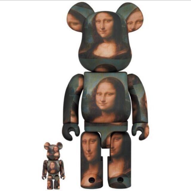 MEDICOM TOY(メディコムトイ)のBE@RBRICK LEONARD DE VINCI Mona Lisa  エンタメ/ホビーのフィギュア(その他)の商品写真
