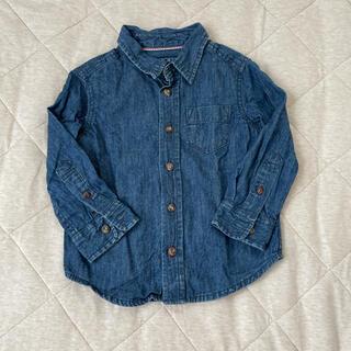ニシマツヤ(西松屋)のデニム風シャツ 95(Tシャツ/カットソー)