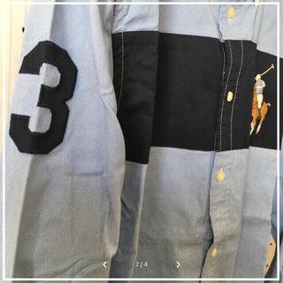 ラルフローレン(Ralph Lauren)のRalph Laurenラルフローレン限定BIGポロ刺繍シャツXL 170cm(シャツ)