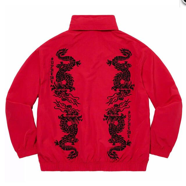 Supreme(シュプリーム)のDragon Track Jacket red week15 21'S/S メンズのジャケット/アウター(ナイロンジャケット)の商品写真