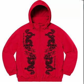 Supreme - Dragon Track Jacket red week15 21'S/S