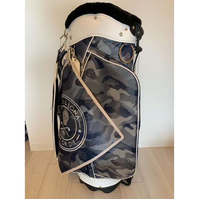 MARK&LONA(マークアンドロナ)の【yuka様専用】マークアンドロナ スタンドキャディバック スポーツ/アウトドアのゴルフ(バッグ)の商品写真