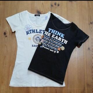 イーストボーイ(EASTBOY)のEAST BOY  Tシャツ2枚(Tシャツ(半袖/袖なし))
