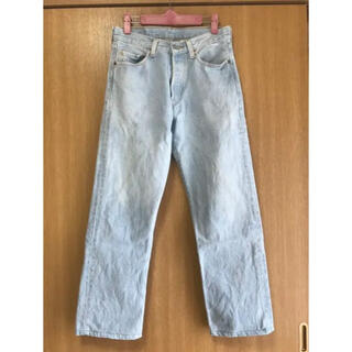 Plage - Plage  BLEACHED USED Levi's501 デニム 28