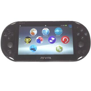プレイステーションヴィータ(PlayStation Vita)の【送料無料】PlayStation®Vita ブラック 2000 WiFiモデル(携帯用ゲーム機本体)