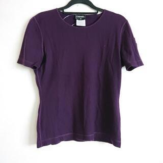 シャネル(CHANEL)のシャネル 半袖セーター サイズ40 M -(ニット/セーター)