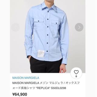 マルタンマルジェラ(Maison Martin Margiela)のメゾンマルジェラ REPLICA  シャツ (シャツ)