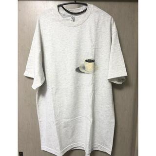 アンユーズド(UNUSED)のgourmet jeans グルメな美食T 珈琲 xl(Tシャツ/カットソー(半袖/袖なし))