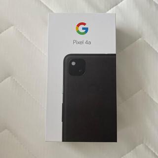 Google - Google Pixel 4a Just Black