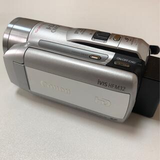 キヤノン(Canon)のCanon HDビデオカメラ iVIS HF M32(ビデオカメラ)