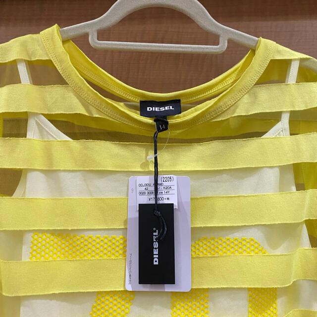 DIESEL(ディーゼル)のディーゼル トップス キッズ/ベビー/マタニティのキッズ服女の子用(90cm~)(Tシャツ/カットソー)の商品写真