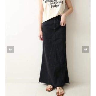 Plage - Healthy denim/ヘルシーデニム】LONG SLIT スカート