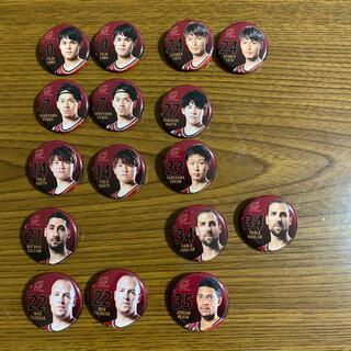 【ゆーぽ様専用】川崎ブレイブサンダース缶バッジ(バスケットボール)