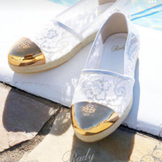 Rady(レディー)の【Rady】先金レースエスパドリーユ レディースの靴/シューズ(スリッポン/モカシン)の商品写真